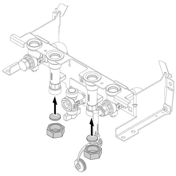 Viessmann Verschlusskappen Speicheranschluss