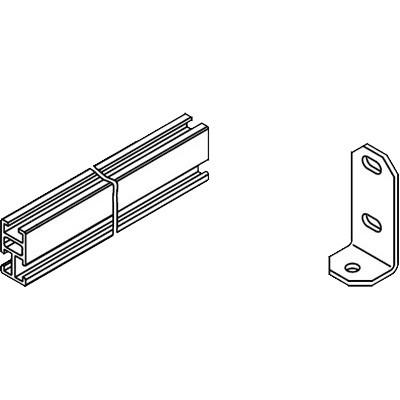 Viessmann Befestigungssystem Flachdachmontage (liegende Montage Vitosol 200/300-TM)