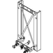 Viessmann Montagerahmen für Aufputz-Montage für Gas-Umlaufwasserheizer