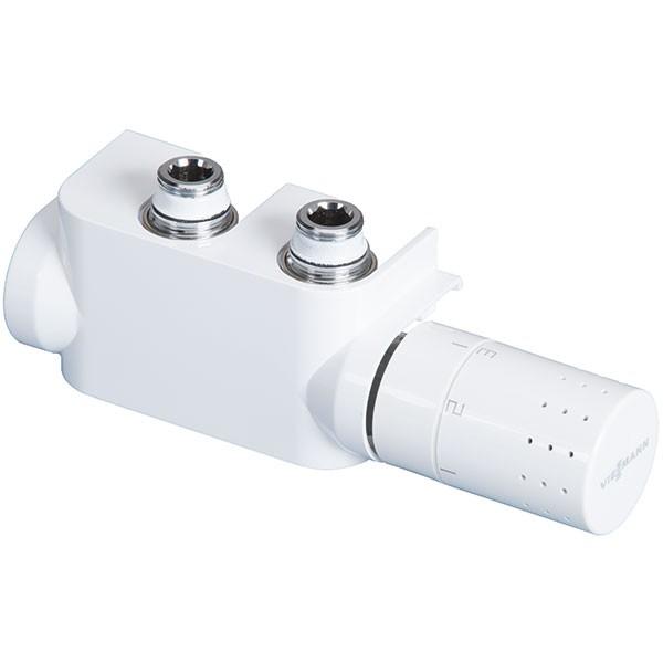 Viessmann Design-Ventilhahnblock mit Thermostatkopf