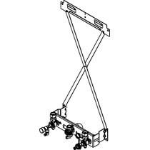 Viessmann Montagehilfe für Aufputz-Montage für Gas-Umlaufwasserheizer