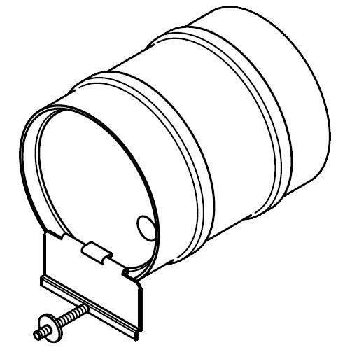 Viessmann Nebenluftvorrichtung (Zugbegrenzer für Einbau in den Schornstein)