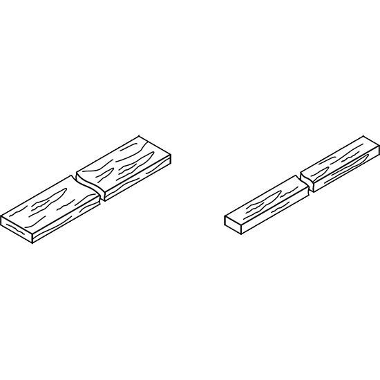 Viessmann Montageholz für Dachintegration