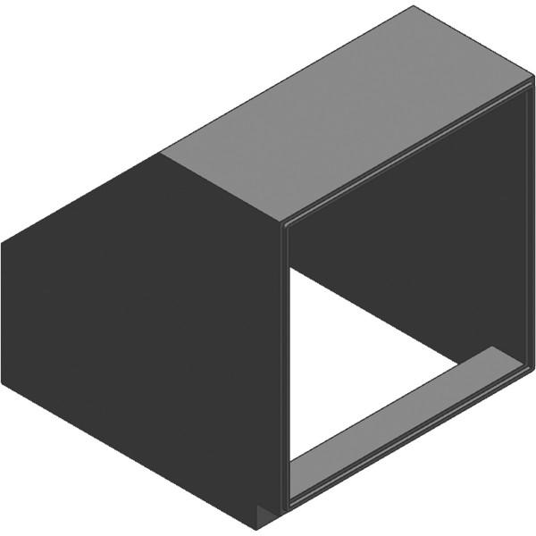 Viessmann Bogen Luftkanal 90° mit Klickverschluss