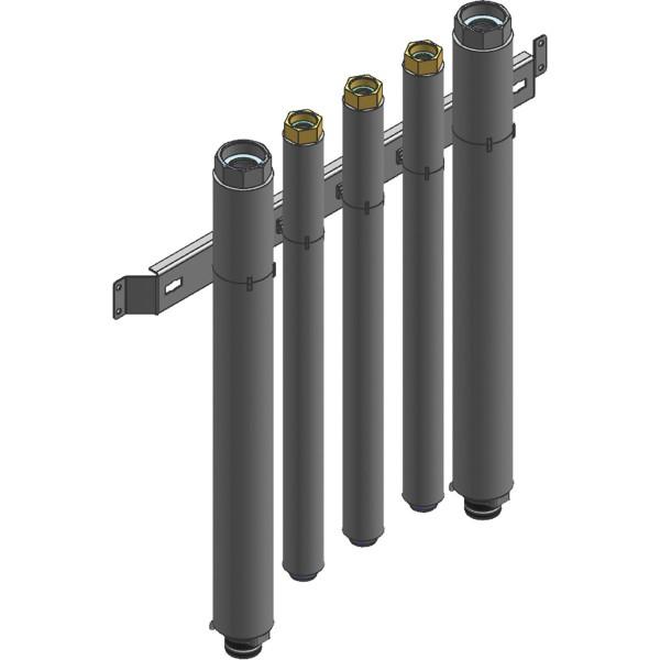 Viessmann Hydraulisches Anschluss-Set Heizkreis für Aufputzinstallation nach oben