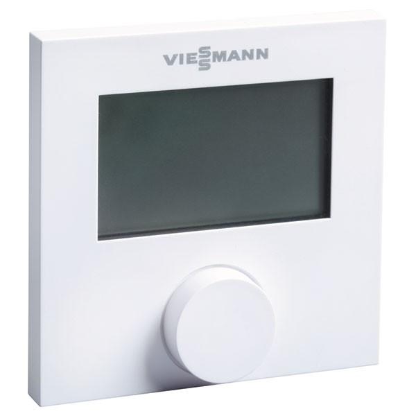 Viessmann Raumthermostat, digital mit Wochenschaltuhr Heizen/Kühlen